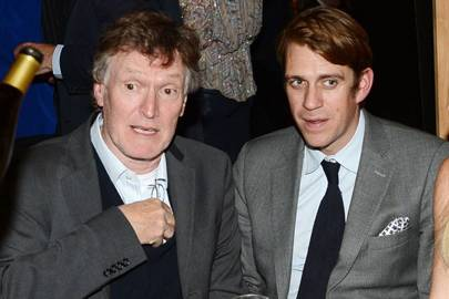 Steve Winwood and Ben Elliot
