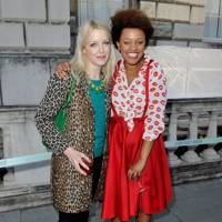 Lauren Laverne and Gemma Cairney