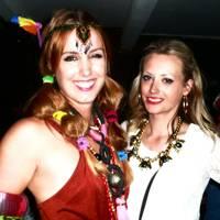 Olivia von Halle and Jessica Russell Flint