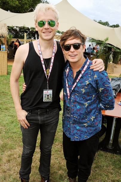Ben Hudson and Mark Owen