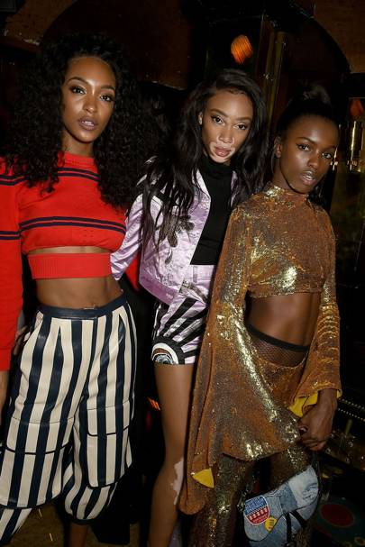 Jourdan Dunn, Winnie Harlow and Leomie Anderson