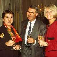 Caroline Krug, Henri Krug and Mrs Henri Krug