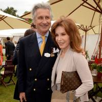 Arnaud Bamberger and Stefanie Powers