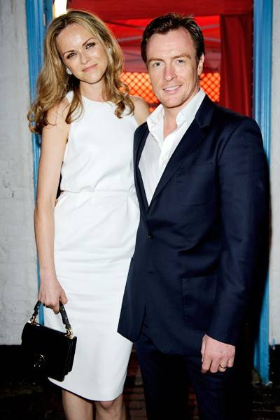 Anna-Louise Plowman and Toby Stephens