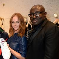 Stella McCartney and Edward Enninful