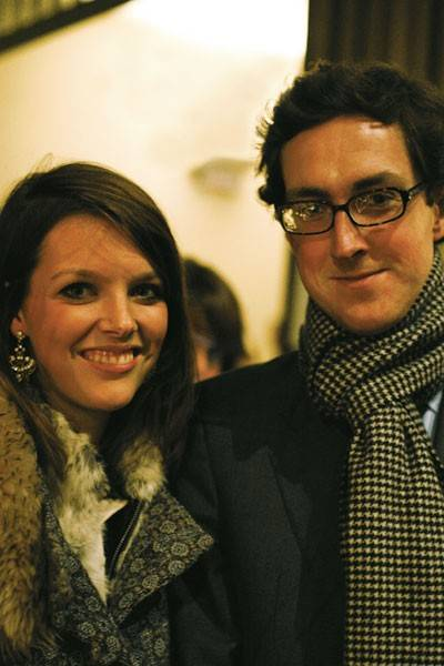 Genevieve Chapman and Mark Chisholm