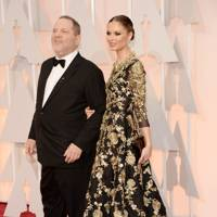 Harvey Weinstein and Georgina Chapman