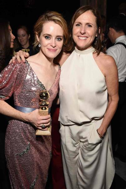 Claire Foy and Molly Shannon