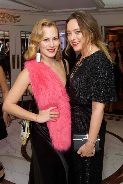 Charlotte Olympia and Alice Temperley
