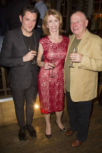 Mathew Horne, Jane Asher and Ian Talbot
