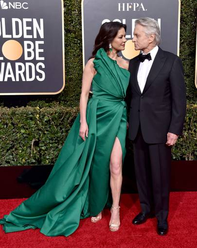 Catherine Zeta-Jones and Michael Douglas
