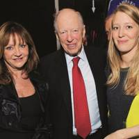 Carole Langton, Lord Rothschild and Alice Rothschild