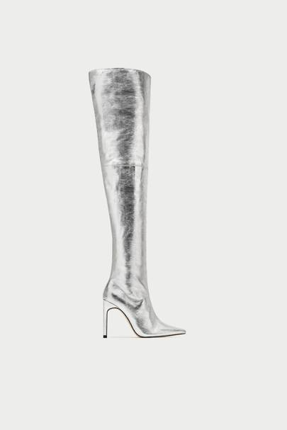 Zara thigh-high boots