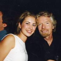 Holly Branson and Sir Richard Branson