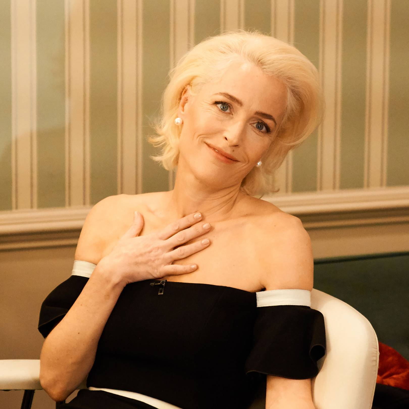 Gillian Anderson on playing Margaret Thatcher in The Crown | Tatler