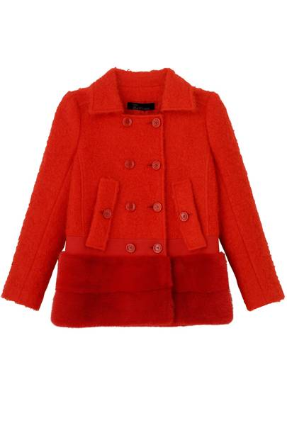 Wool jacket, £1,860, by John Galliano