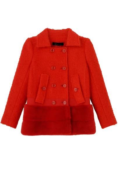 Wool jacket, £1,860, by John Galliano