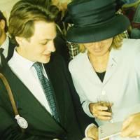 The Hon Edward Sackville and Lady Kleinwort