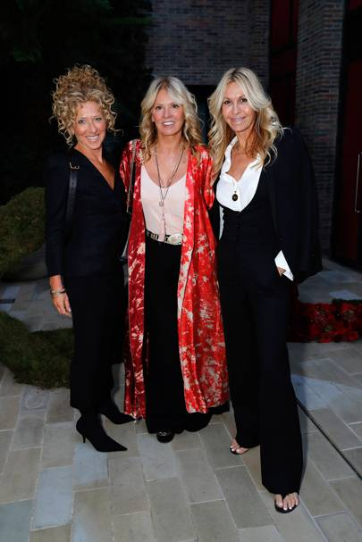 Kelly Hoppen, Kelly Cooper Barr and Melissa Odabash