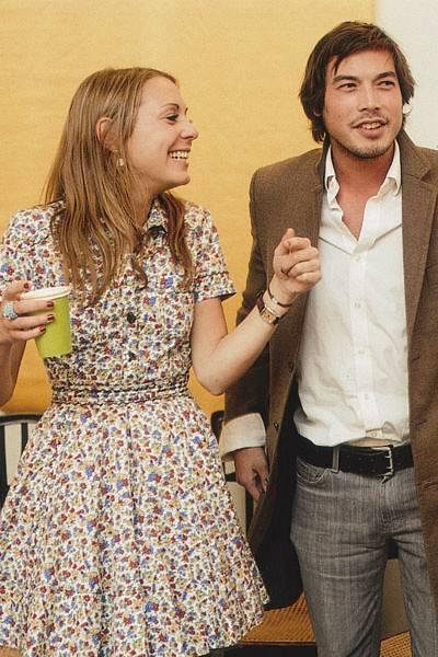 Camilla Stopford Sackville and Iain Russell