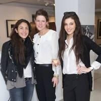 Nina Ghais, Kate Anderson and Razane Jammal
