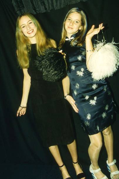 Elizabeth Jagger and Louisa Elderton