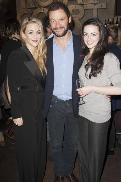Miranda Raison, Dominic West and Laura Donnelly