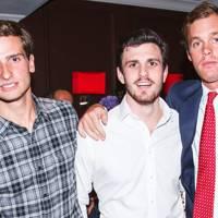Tom Warren, Olly Huson and Alex Collins