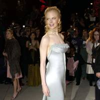 Wearing Chanel at the Vanity Fair Oscars party, 2004