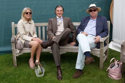 Anita Hughes, Brent Hughes and Peter Robinson