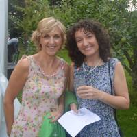 Karen Brooks-Cowan and Tracy Watt