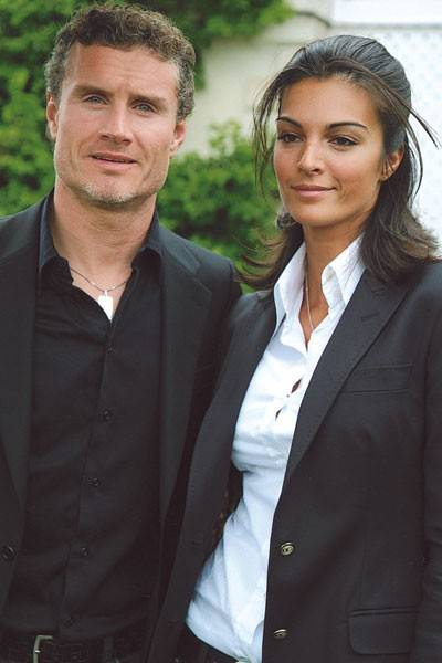 David Coulthard and Karen Minier