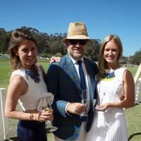Rosie Bossom, David Leppan and Sophie Gardener