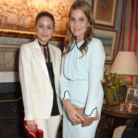 Olivia Palermo and Aerin Lauder