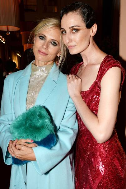 Laura Bailey and Erin O'Connor