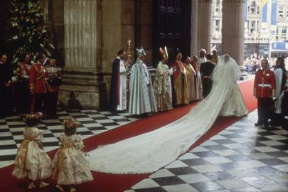 the real story details of princess diana s wedding dress tatler princess diana s wedding dress