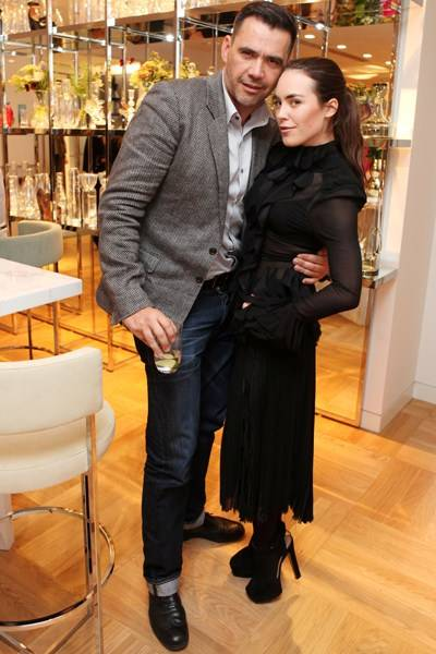 Roland Mouret and Tallulah Harlech