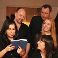 Saira Ghafur, Dylan Potter, David Bryce Lyons, Laura Kehoe, and Karen Forbes