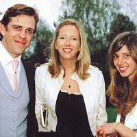 Ben Elliot, The Hon Flora Hesketh and Ines Ferro Riberio