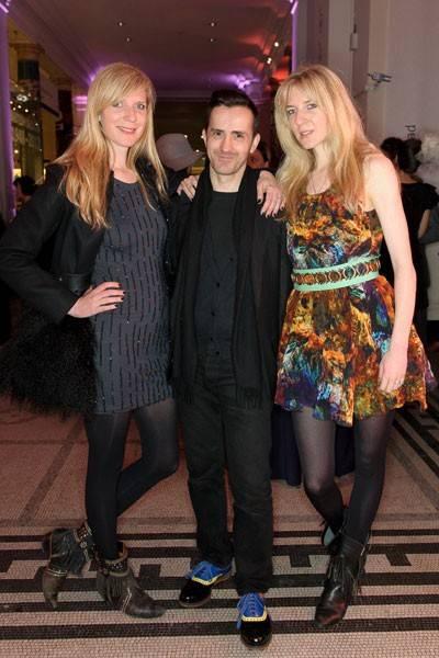 Daniella Felder, Kinder Aggugini and Annette Felder
