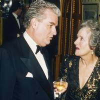 Sir Tim Bell and Lady Parkinson