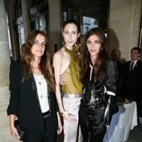 Elisa Sednaoui, Anna Cleveland and Joanna Preiss