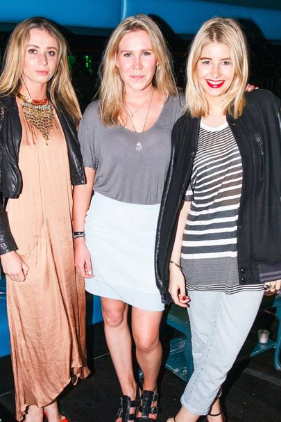 Jasmine Contomichalos, Pip Durell and Phoebe-Lettice Thompson