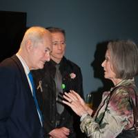Paul Gambaccini, Peter Tatchell and Anna Ford