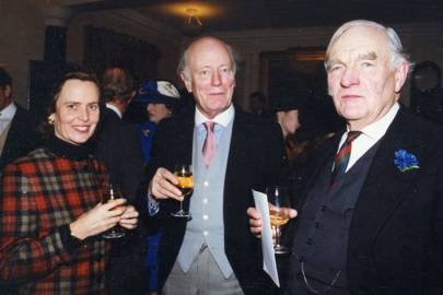 Lady Chichester-Clark, Sir Robin Chichester-Clark and His Honour Judge Stroyan QC