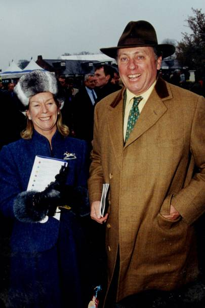Mrs Christopher Hanbury and Major  Christopher Hanbury