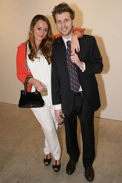 Louise Dooey and Hayden Kays