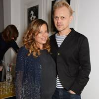 Jade Jagger and Adrian Fillary
