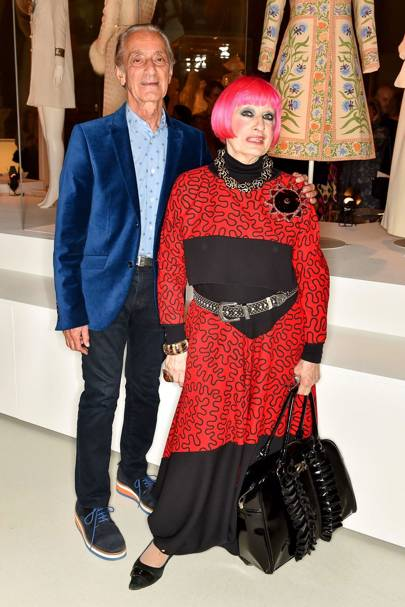 David Emanuel and Zandra Rhodes