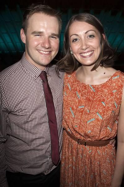 Stephen McGill and Lauren Grant